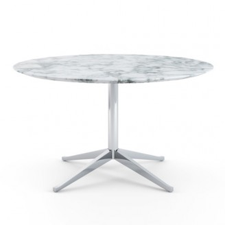 FLORENCE KNOLL TABLE DESK ROUND