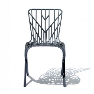 WASHINGTON SKELETON ALUMINIUM SIDE CHAIR